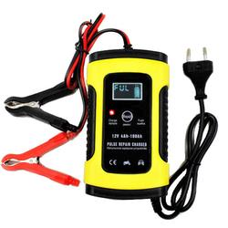 Pulse Repair LCD Battery Charger For Car Motorcycle