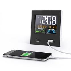 Time Calendar Switchable Temperature Humidity Display