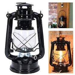 Retro Oil Lantern Outdoor Garden Portable Hanging Lamp