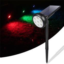 7 LED Solar Spotlight Landscape Lamp Waterproof