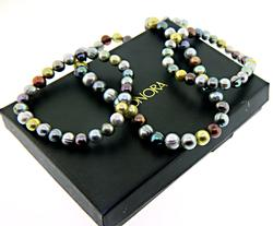 Honora Set of Multi Color Fresh Water Pearl Necklace & Bracelets