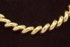 Amazing Gold San Marco Link Necklace, 16.5in