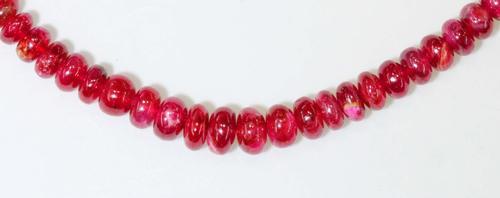 Ravishing Natual Ruby Necklace