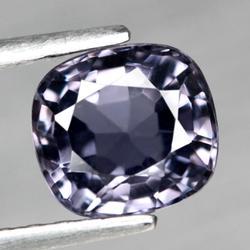 Glittering VS clarity 1.38ct titanium violet Spinel