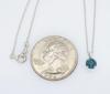 Colored Solitaire Diamond Necklace
