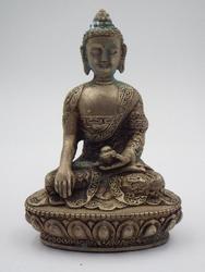 Antique Nepalese (Nepal) Enlightened BUDDHA statue COA