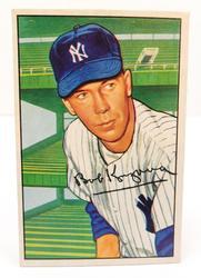 1952 Bob Kuzava, Yankees Bowman Gum Football Card