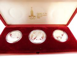 Moscow 1980 Silver Olympic Coin Set
