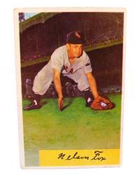 1950's Nellie Fox, White Sox Baseball Card