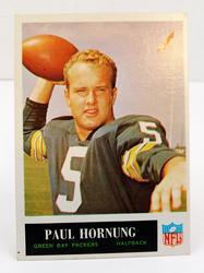 1964 Paul Hornung, Packers Football Card