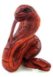 Hand Carced Boxwood Japanese Netsuke