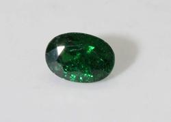 Verdant Green Natural Tsavorite - 0.90 ct.