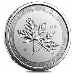 2019 Canada 10 oz Silver $50 Magnificent Maple Leaf