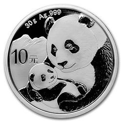 2019 Chinese Silver Panda 30 Gram