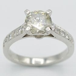 The Perfect Platinum 2 Carat Diamond Engagement Ring!