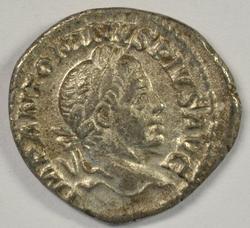 Super Elagabalus Roman Silver Denarius, 218-222 AD