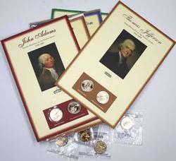 BU Presidential and Sacagawea Dollar lot
