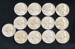 4 Each 1960 1961&1964 Choice Proof Washington Quarters