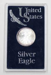 2000 Toned BU  United States Silver Eagle