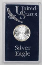 1989 BU Toned Rim United States Silver Eagle