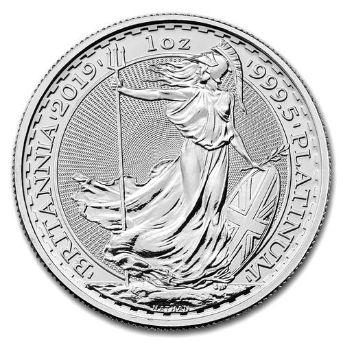 One Ounce Platinum Britannia 2019