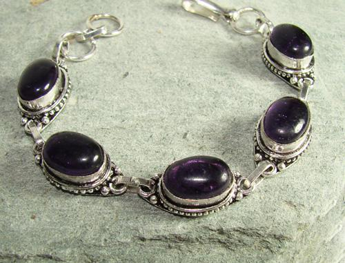 Fascinating Natural Stone Ethnic Handcrafted Bracelet