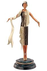 Erte Bronze 'On the Avenue'