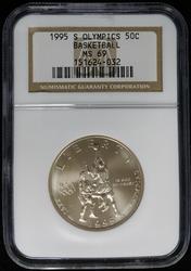 Certified Half Dollar 1995 S Olympics PCGS MS69
