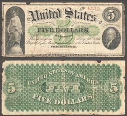 $5 1861 Demand Note