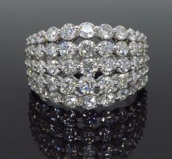 Approximately 2.92CTW Diamond Ring