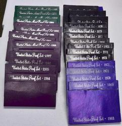 Estate 31 Proof Set Run 1968-1998