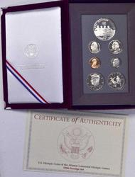 1996 Key Date Proof Prestige Set