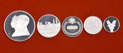 Persian Empire 1971 Historic Sites Mint Proof Set