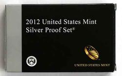 Scarce 2012 US Silver  Proof Set With Box and Papers