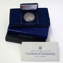 National Law Enforcement Constitution & Liberty Proof Comm Silver Dollars