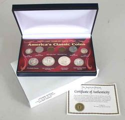 2 Sets Last Year Of Issue Americas Classic Coins