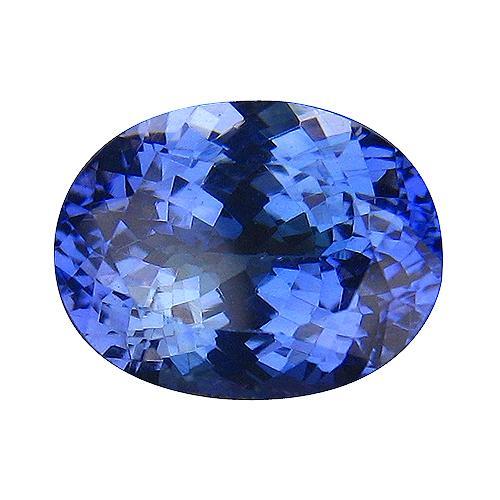 Full fire eye clean 3.58ct violet blue Tanzanite