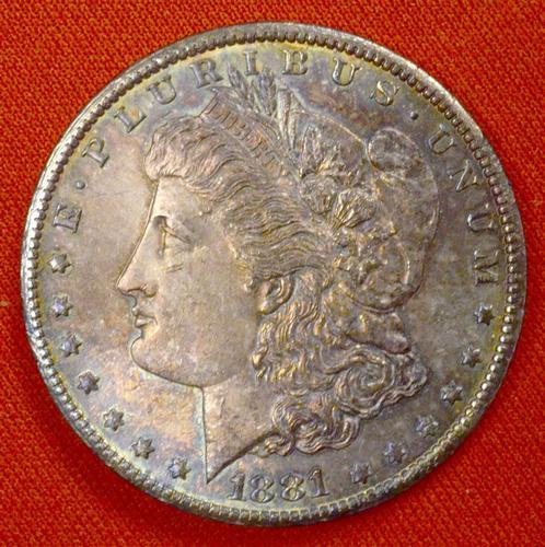 1881-CC Morgan Dollar, Deep Tones, Nice Color