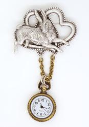 Decorative Rabbit Watch Pin