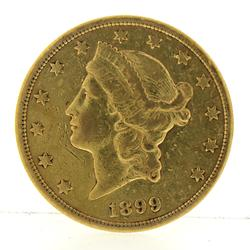 1899 Gold Coin Liberty Head