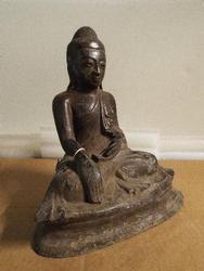 Antique Tibetan Shakyamuni  Buddha Bronze Statue