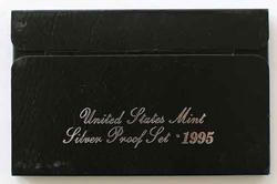 1995 US Silver Proof Set in original box