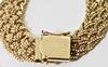 Exquisite Heavy 14K Braided Foxtail Necklace