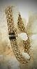 Elegant 14K Braided Bracelet