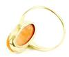 Antique Carved Coral 10K Gold Cameo Ring