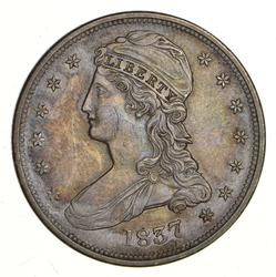 1837 Capped Bust Half Dollar - Reverse 50 Cents - Choice