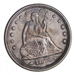 1873 Seated Liberty Quarter - Near Uncirculated