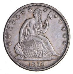 1859-O Seated Liberty Half Dollar - Choice