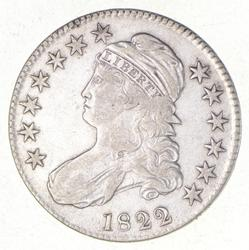 1822 Capped Bust Half Dollar - Button Variety