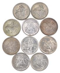 Lot (10) 1925 Stone Mountain Commemorative Half Dollars - Unc